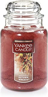 Sponsored Ad - Yankee Candle Large Jar Candle, Autumn Wreath