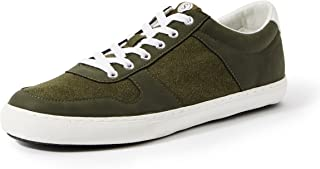 Amazon Brand - Symbol Men's Olive Sneakers-11 (AZ-YS-201 D)