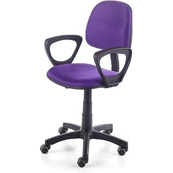 Topstar 616207 silla escritorio para ni/ños MAXX KID tejido rosa motivo corazones