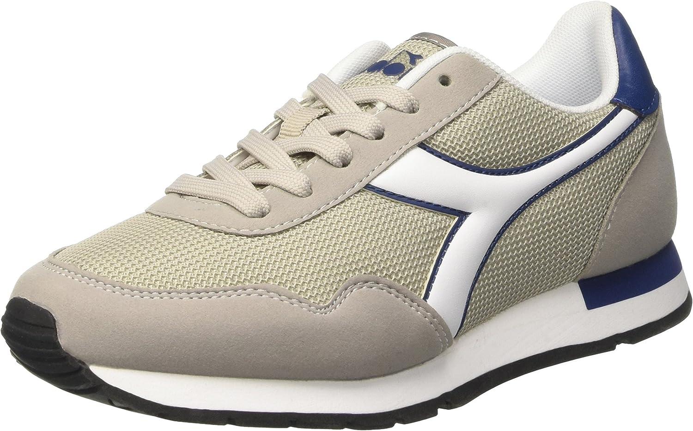 Diadora skor springaning skor Jogging män Breeze Paloma grå grå grå Storlek  det senaste