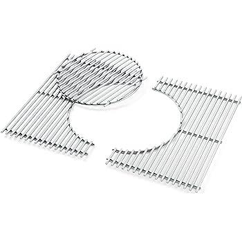 pièces détachées barbecue weber spirit e210 grilles 44x29
