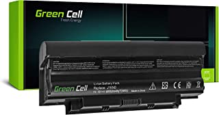 Green Cell GC Laptop Battery for Dell Inspiron P22G002 P22G003 P22G004 Q15R M5110 N5110 Vostro 1440 Notebook (4400mAh 11.1V Black)