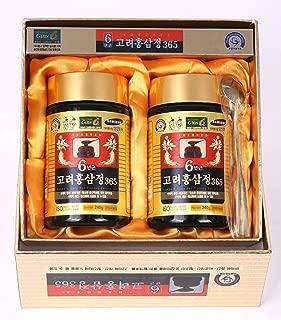 HongSamJeong 240g(8.5oz) X 2ea, Korean 6years Root Red Ginseng Gold Extract, Saponin, Panax
