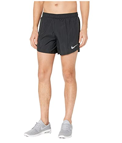 Nike 5 Dry Shorts Fast (Black/Reflective Silver) Men