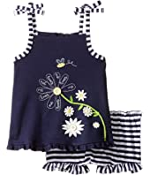 Mud Pie - Daisy Tank Top and Bloomers Set (Infant)