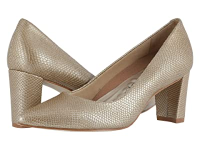 Walking Cradles Samantha (Light Taupe Snakeskin Leather) Women