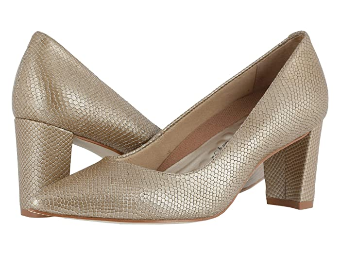 Walking Cradles  Samantha (Light Taupe Snakeskin Leather) Womens  Shoes
