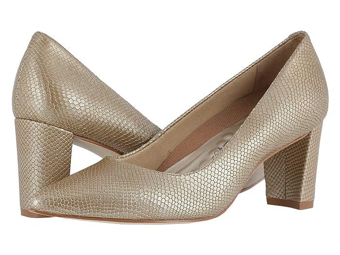 Walking Cradles  Samantha (Light Taupe Snakeskin Leather) Womens  Shoes