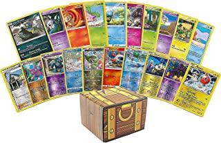 100 Assorted Pokemon Cards Beginner Set: Features 10 Reverse Holos, 90 Additional Cards and Pokemon Play Instructions All ...