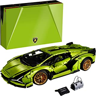 LEGO Technic Lamborghini Sián FKP 37 (42115), Model Car Building Kit for Adults, Build and Display This Distinctive Model,...