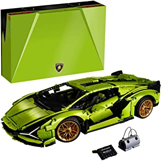 LEGO Technic Lamborghini Sián FKP 37 (42115), Building Project for Adults, Build and Display This Distinctive Model, a Tru...