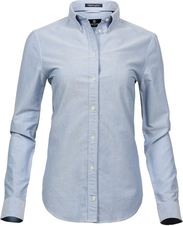 Tee Jays Womens Ladies Perfect Long Sleeve Oxford Shirt