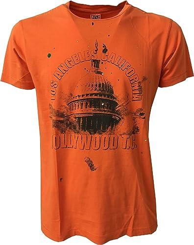 HTC Hollybois Trading Company - T-Shirt - Homme Arancio