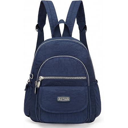 AOTIAN Mini Rucksack Für Mädchen Und Damen Leichtgewicht Kleine Lässiger Daypacks Tasche 7 Liter Blau