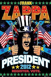 Scorpio Frank Zappa President Wall Poster