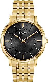 Bulova Men's 40mm Classic Ultra-Slim Stainless Steel Goldtone Bracelet Watch