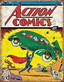 comic book tin signs