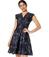 Zac Posen - Floral Jacquard Dress