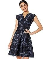 Zac Posen - Floral Jacquard Dress