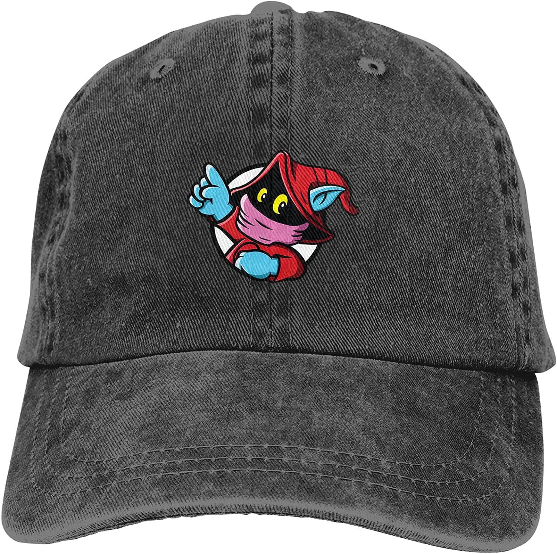 Lovely Orko Cowboy Hat Adjustable All-Season Neutral Cap Black