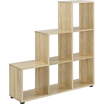 en.casa] Estantería en Forma de Escalera estilosa - Estantería de ...