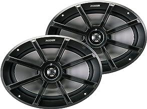 Kicker 40PS694 PS Series 6 x 9 Inch 180 Watt Max 4 Ohm Coaxial 2-Way Water Resistant..