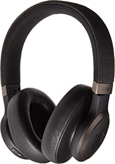 JBL Live 650 BT NC, Around-Ear Wireless Headphone with Noise Cancellation - Black, JBLLIVE650BTNCBAM