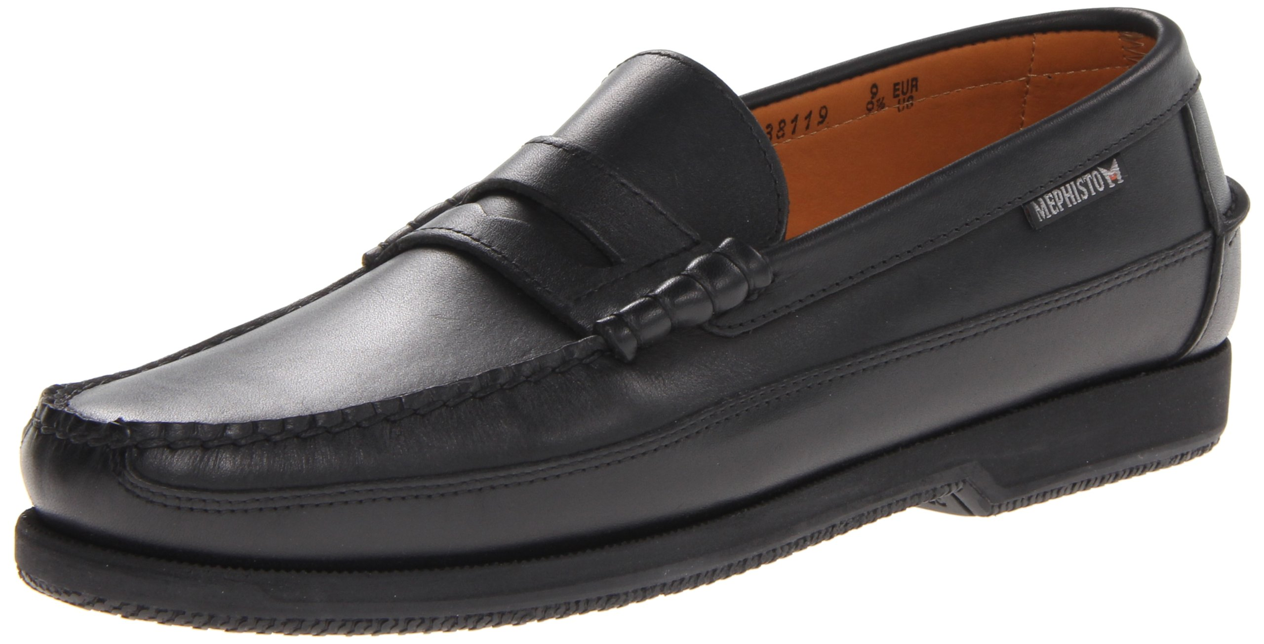 Mephisto Penny Loafer Black Leather