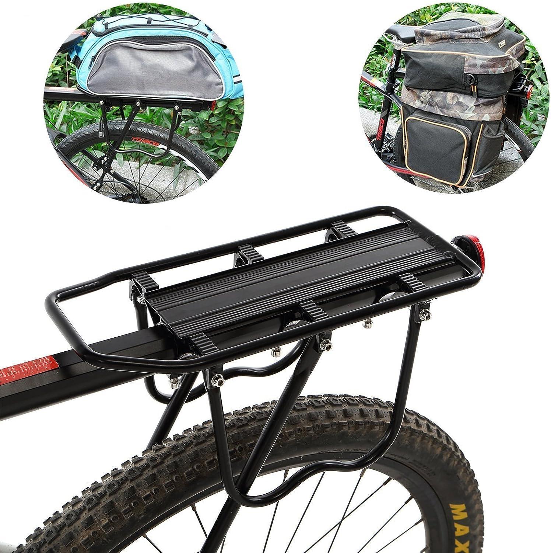 Fat Bike Rear Rack Practical 50 Kg Capacity Bike Specialized Carriage Pannier Storage Accessories for Kids Men Women