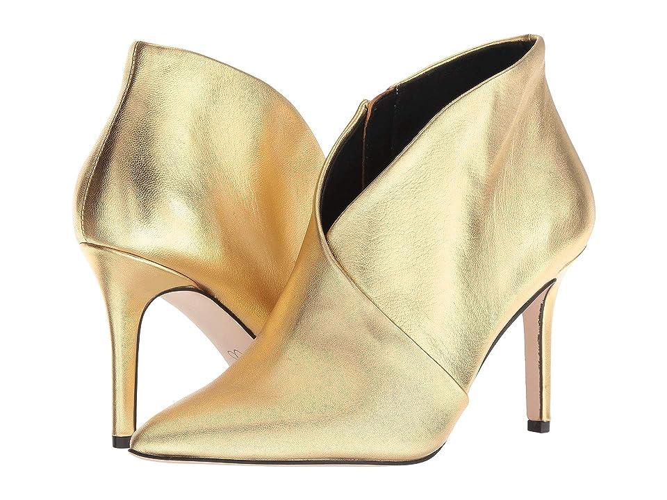 Jessica Simpson Layra (Karat Gold Metallic Italia Nappa) Women