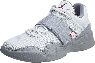 Jordan Scarpe Basse Nike J23 in Pelle e Tessuto Bianche monocromo 854557-102