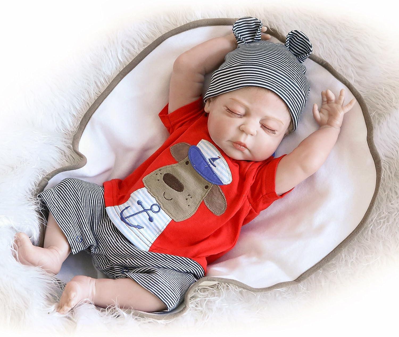 Reborn Indefinitely Dolls Silicone Full Body Luxury goods Baby Sleeping Doll Realistic Boy