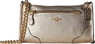 COACH Women's Grain Leather Mickie Crossbody