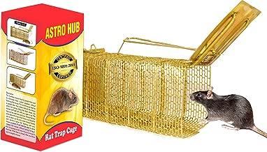ASTRO HUB Rat Trap Cage, Standard , Golden