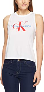 Calvin Klein Women's Cropped Logo Tank