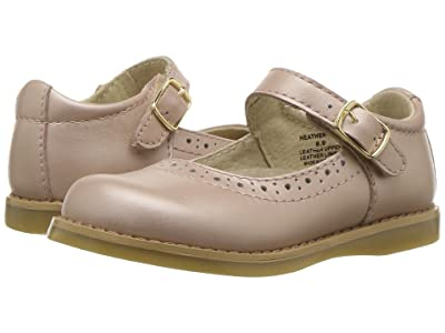 FootMates Heather (Infant/Toddler/Little Kid) (Rose Gold Metallic) Girl