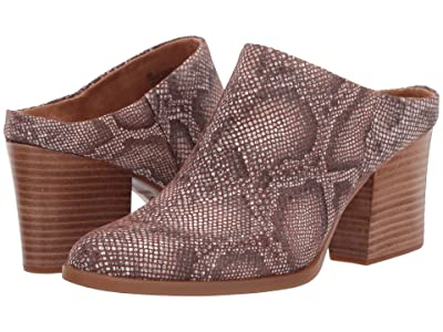 Born Eustis (Brown Snake Print) High Heels