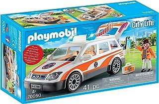 PLAYMOBIL City Life 70050 Samochód ratowniczy ze światłem i dźwiękiem, od 4 lat