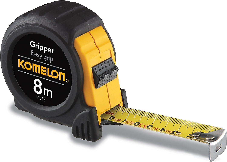 Komelon PG85 8m by 25mm Metric Metric Metric Gripper Tape, schwarz by Komelon B0064XJTFY | Tragen-wider  79cb1e