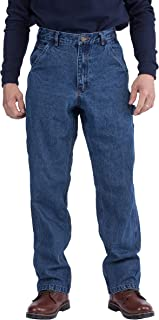 TICOMELA FR Pants for Men Flame Resistant Carpenter 100% Cotton Pre-Washed Fire Retardant Dungaree