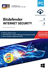 BitDefender Internet Security - 1 PC, 1 Year