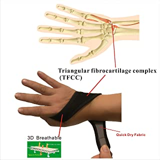 IRUFA, WR-OS-17, Breathable Wrist Brace,  for TFCC Tear- Triangular Fibrocartilage Complex Injuries,  Ulnar Sided Wrist Pain,  Weight Bearing Strain,  One PCS
