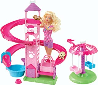 Best barbie slide and spin doll and pups playset Reviews