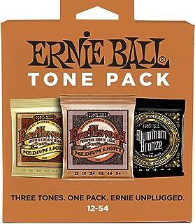 Ernie Ball Medium Light Akustik-Ton-Pack – 12-54 Gauge