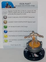 Marvel Heroclix Fear Itself #300 Iron Man Figure with Card