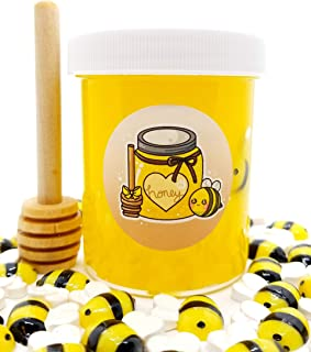 Honey Pot Clear Scented Slime-Hoshimi Slimes