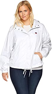Levi's Women's Plus Size Retro Hooded Track Jacket