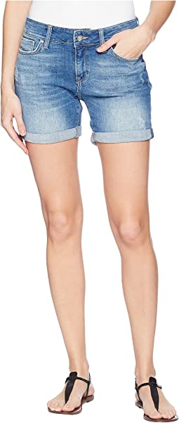 Pixie Boyfriend Shorts in Light Distressed Vintage