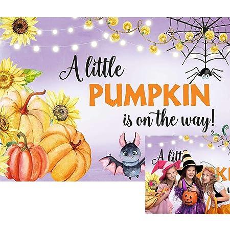 Halloween Night Pumpkin Background 5x7ft Vinyl Newborn Backdrop Children Photography Props Photo Background 10731