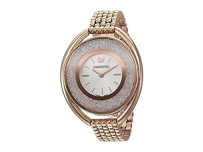 Swarovski Crystalline Oval Watch (Gold) Watches